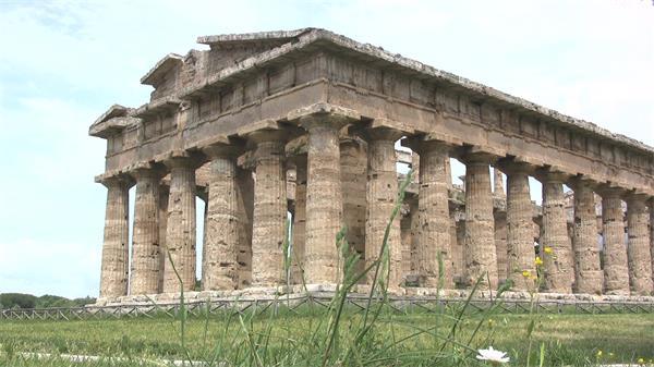 古老壮丽建筑遗留产物风化侵蚀建筑文化传承高清视频拍摄