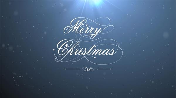 圣诞节白色雪花粒子飘落动态LED背景视频素材