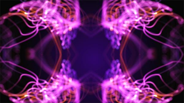 魔幻变化音乐节奏夜店酒吧动态LED背景视频素材