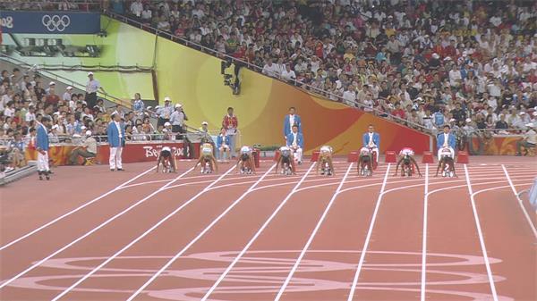 高清奥运会精美镜头活动会体育活动竞赛剧烈场景视频实拍