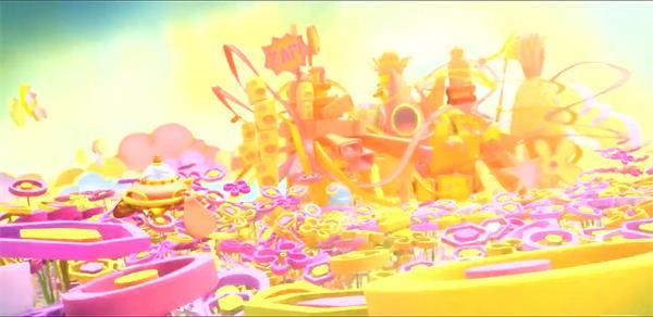 奇幻旅程充满乐趣新奇童真动画儿童欢乐派对动态视频素材
