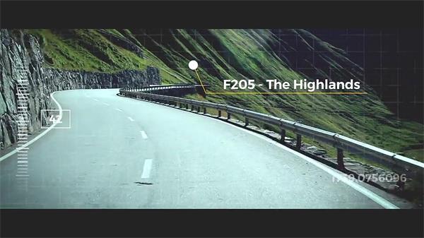 AE模板 具有异国风情多?#31034;?#22836;旅游景点揭示幻灯片模版 AE素材