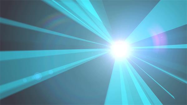 科幻光芒绽放射线激光变更刺眼力芯照射舞台背景视频素材