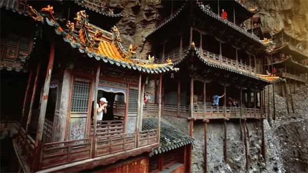 历史故事名胜古迹古建筑风景实拍高清视频素材