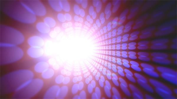 充满探索隧道聚光灯散发波点斑纹选择绽放光芒背景视频素材