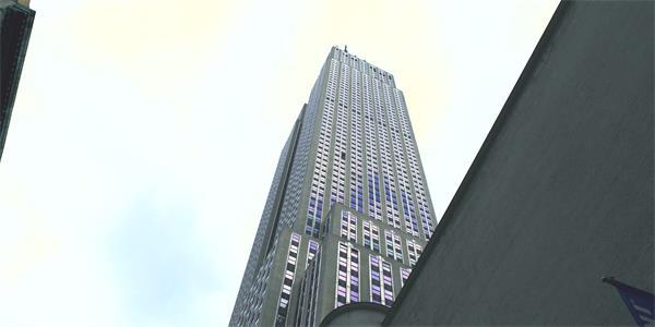 [4K]摩登大楼华丽城市建筑气息仰望大厦中心建设风格高清视频实拍