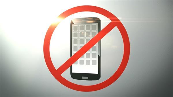 靜止使用手機打電話動態LED背景視頻廣告素材