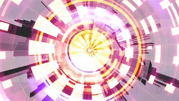 虚幻闪烁错乱变幻层叠遮罩动感活力旋转屏幕背景视频素材