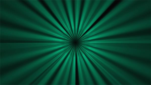 穿越绿光线性时光隧道LED动态背景视频素材