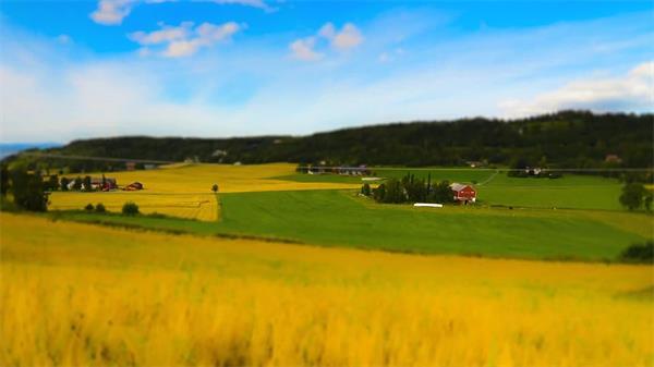 大天然农田耕耘收获养殖放牧延时实拍高清视频素材