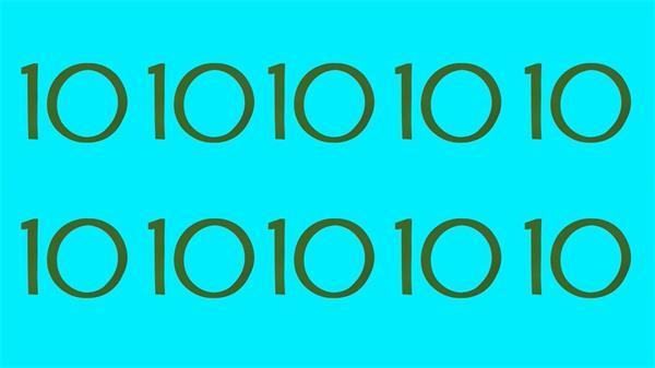 创意分屏卡通转场倒数LED静态配景视频素材