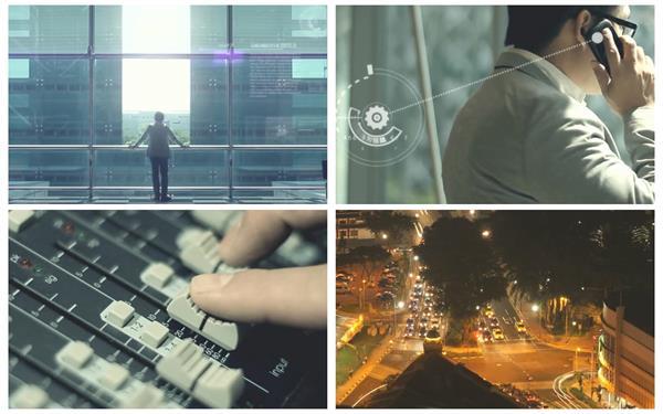 時代變遷科技促進發展智能化企業宣傳攜手共進高清視頻拍攝