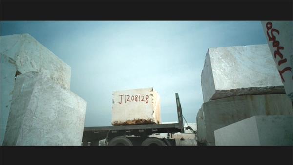 天然石材开采加工企业公司广告宣传片实拍高清视频素材