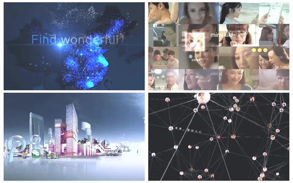 互联网时代发展团队合作网购游戏商务成功人士宣传片视频实拍