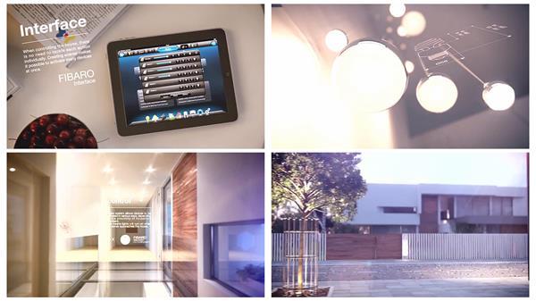 未来智能家居自动化家电无线控制家居智能装饰宣传片高清视频实拍