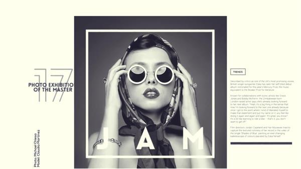 AE模板 时尚创意切换分割矩形照片墙幻灯片模板 AE素材