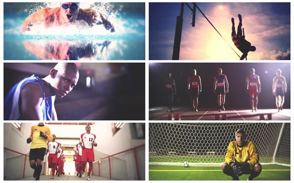 各种各类体育运动比赛精彩镜头锦集激动人心奋发激励高清视频实拍