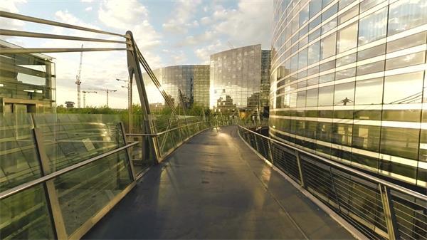 打造成熟城市住宅房地長開發廣告航拍實拍高清視頻素材