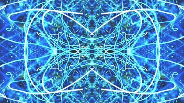 超快节奏光效线性波纹错乱变幻夜场派对LED舞台背景视频素材