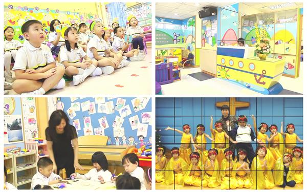 幼儿教学幼儿园环境教学风格画画舞蹈运动多样化儿童教育高清实拍
