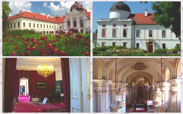 欧洲典雅皇宫文化建筑特色内部装饰奢华大气户外唯美景色高清实拍