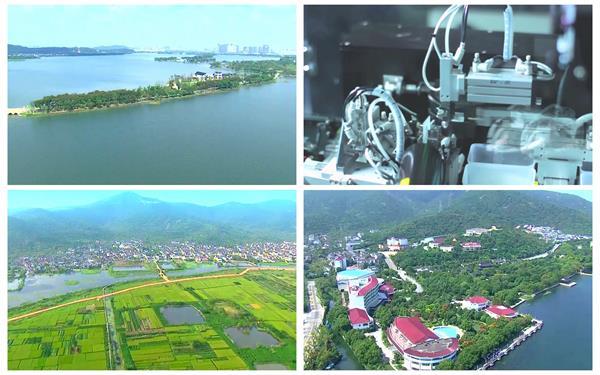 苏州如画般山水景色太湖城市文化建设发展形象宣传片高清视频实拍