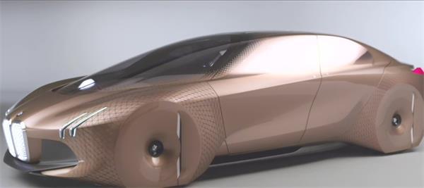 将来科技设计开展智能电动观点汽车智能辨认感到高清视频实拍