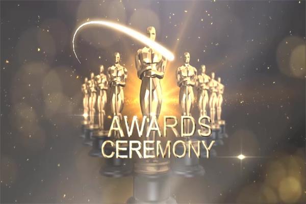 会声会影X6模板 奢华大气光效粒子电影企业颁奖典礼栏目包装模版