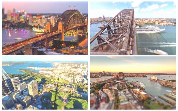 超美城市风貌建筑人物生活繁忙景象高空延时高清视频拍摄