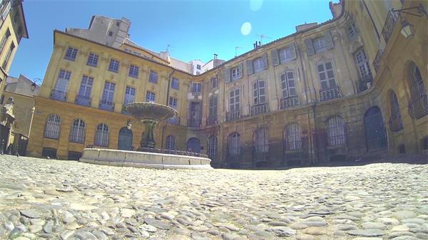 古建筑典雅风格房地产视觉仰视拍摄缓慢移动镜头高清视频实拍