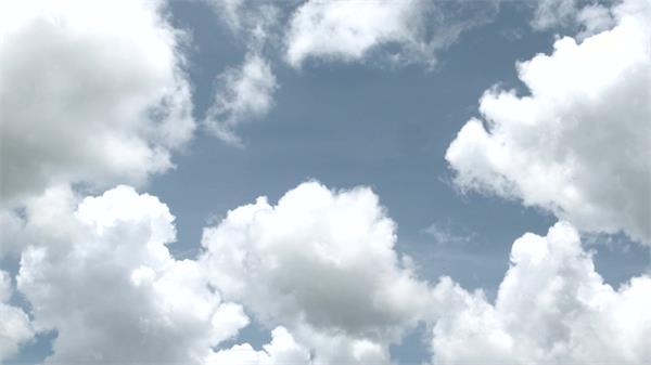 3款天空云层变幻大气层云朵千变万化美丽景象高清视频实拍