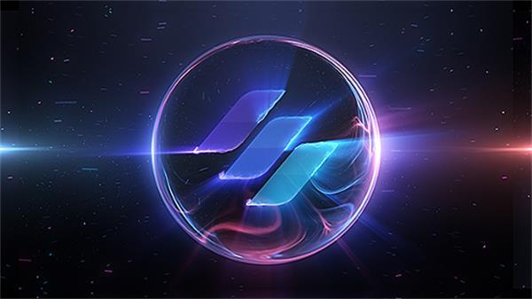 AE模板 圆球电力能源光效火花变幻演绎企业LOGO标志模板 AE素材