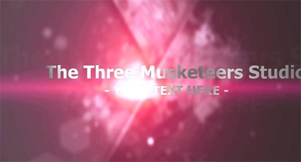 会声会影X6模板 酷炫暗色调光效滑过标题公司企业宣传电影预告模