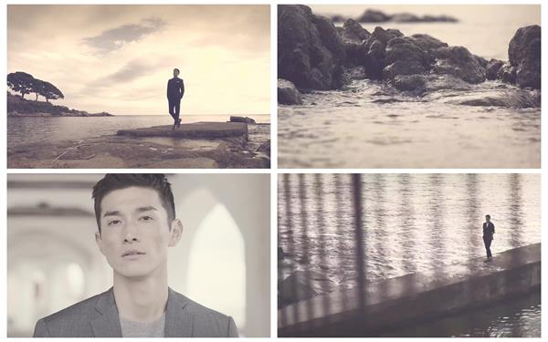 酷帅成功人士行走海边正式男士服装时尚推广宣传高清视频实拍