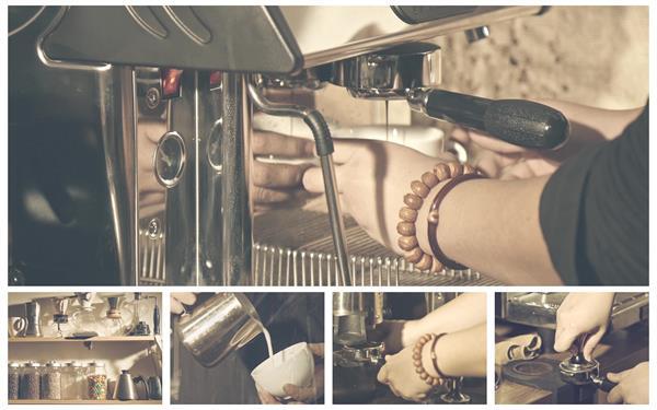 [4K]咖啡店调制咖啡手工顾客品尝精美摆设咖啡宣传高清视频实拍