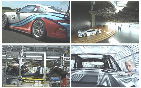 汽车企业机械化生产制造拼接精致设计宣传片高清视频实拍
