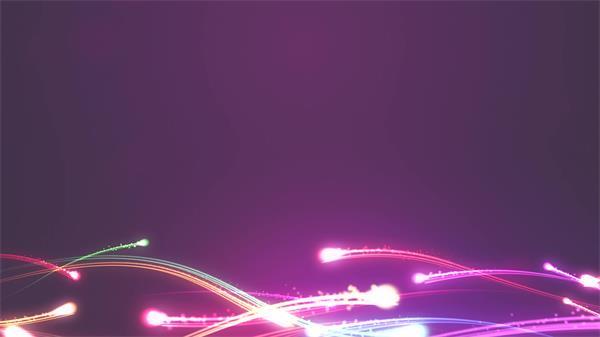 绚丽光效波浪动感光束运动视觉变幻酷炫舞台LED背景视频素材