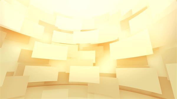 笼统数字化大气3D空间外形方块挪动变革视觉配景视频素材