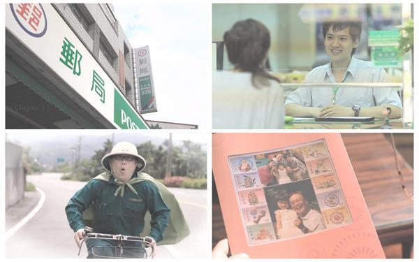 邮政函件通报派送微影戏故事绿色超人邮政局宣传高清视频实拍