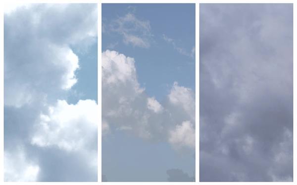 3款天空云层变化观测分析气象动态过渡转场镜头高清视频拍摄