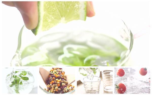 美♂味食物烹�薄荷�品豆�羹番茄美食餐�食�V高清∩��l��拍