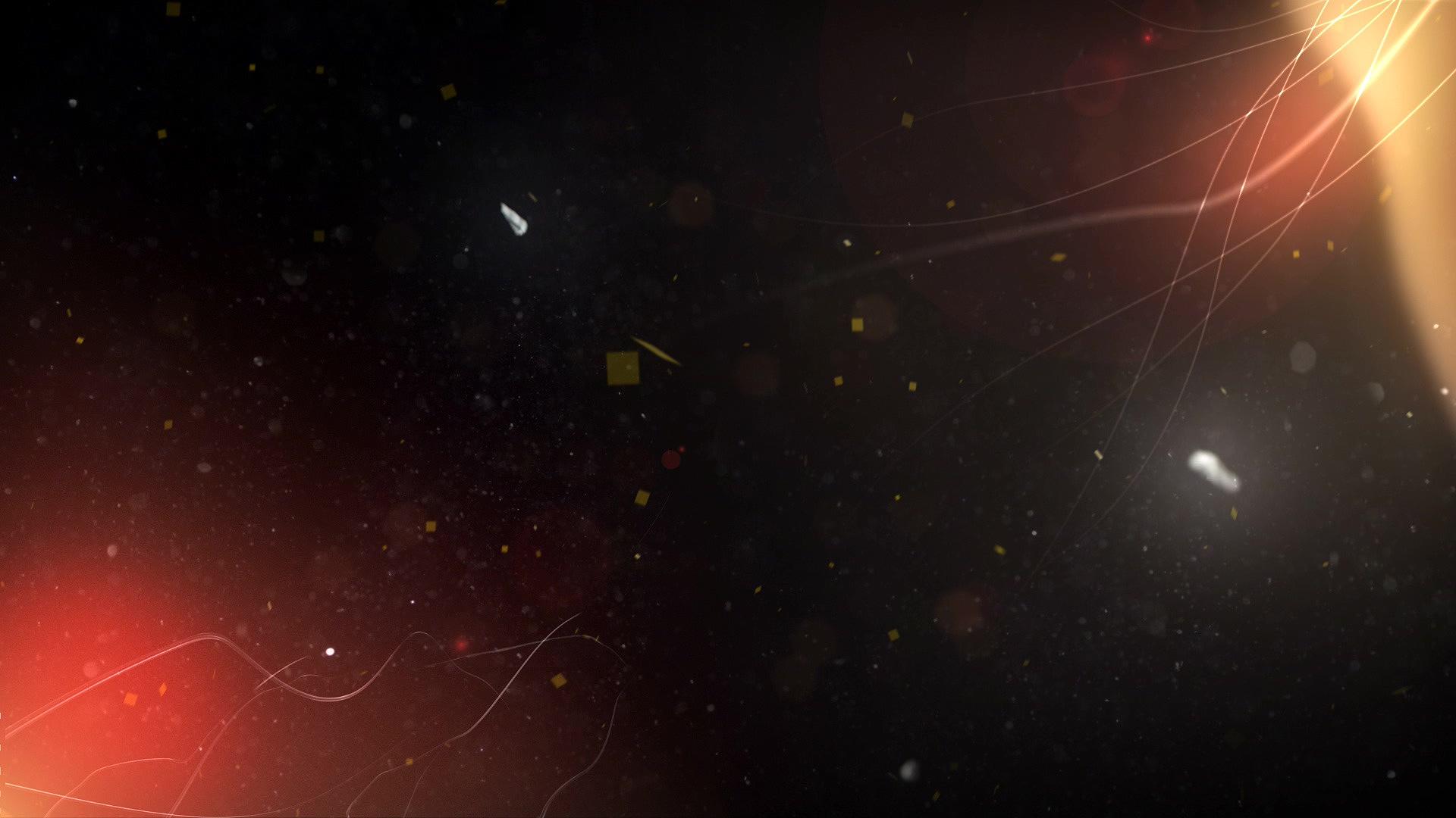 超炫粒子光线波纹飘动高清背景视频素材