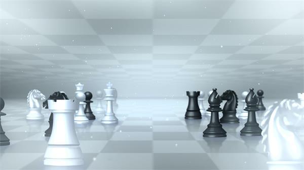 国际象棋高清背景视频素材