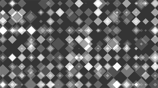 彩色时髦方块缩放幻化动感唯美画面视觉舞台配景视频素材
