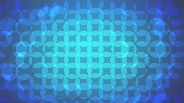 梦幻圆形渐变色彩重叠圆圈振荡变化视觉冲击动态背景视频素材