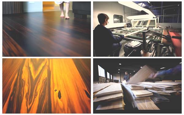 高端环保木地板测试研究绿色节能生产企业宣传片高清视频实拍