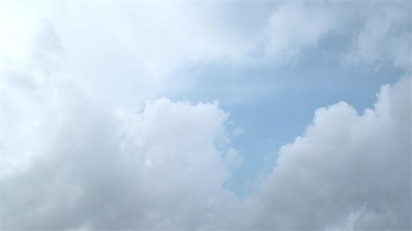 2款天空云层挪动幻化俯视觉镜头大气层生态高清视频实拍