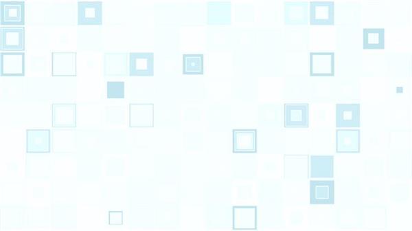 简约华丽蓝绿色正方格闪烁循环变幻视觉LED动感背景视频素材