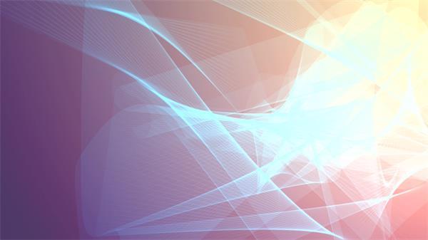 经典屏幕保护图案波浪线性交错变幻射线层叠视觉冲击背景视频素材