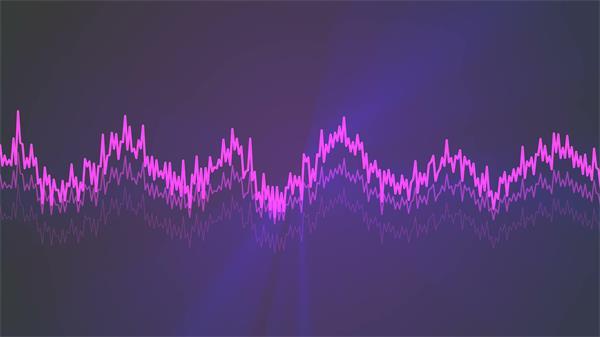 眼花缭乱动感音频跳动光效?#20102;?#21464;幻酒吧派对舞台背景视频素材